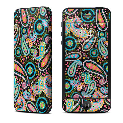 Apple iPhone 5 Skin - Crazy Daisy Paisley