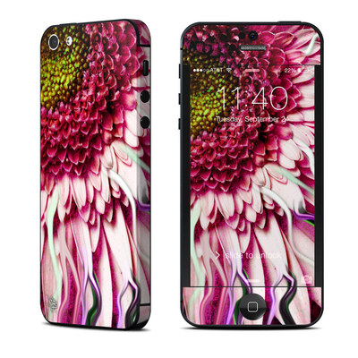 Apple iPhone 5 Skin - Crazy Daisy
