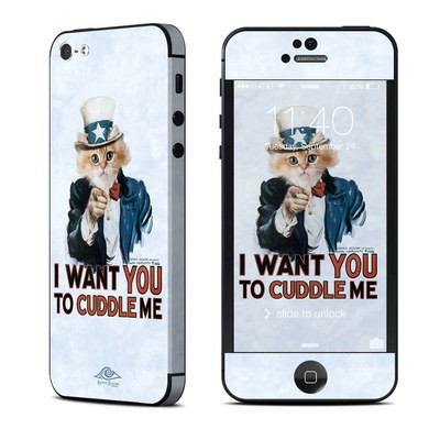 Apple iPhone 5 Skin - Cuddle Me