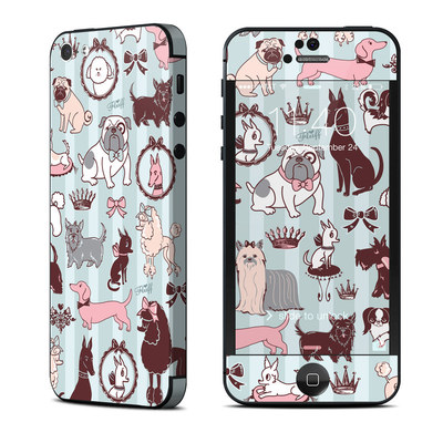 Apple iPhone 5 Skin - Doggy Boudoir