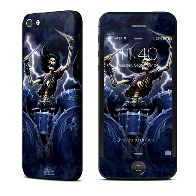 Apple iPhone 5 Skin - Death Drummer