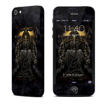 Apple iPhone 5 Skin - Death Throne