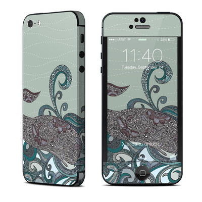 Apple iPhone 5 Skin - Deep Blue Me