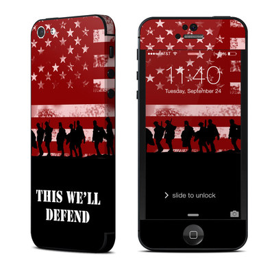 Apple iPhone 5 Skin - Defend
