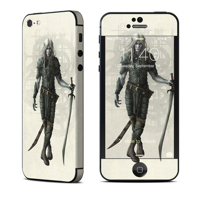 Apple iPhone 5 Skin - Dark Elf