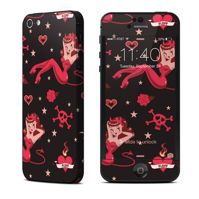 Apple iPhone 5 Skin - Devilette