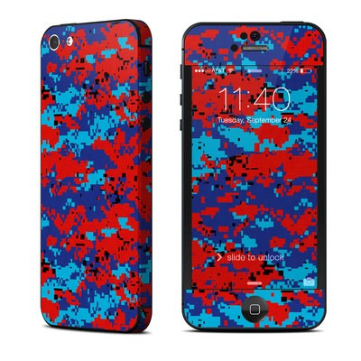 Apple iPhone 5 Skin - Digital Patriot Camo