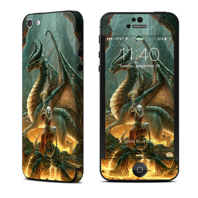 Apple iPhone 5 Skin - Dragon Mage