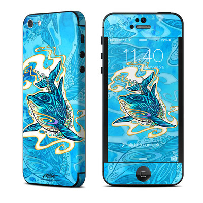 Apple iPhone 5 Skin - Dolphin Daydream