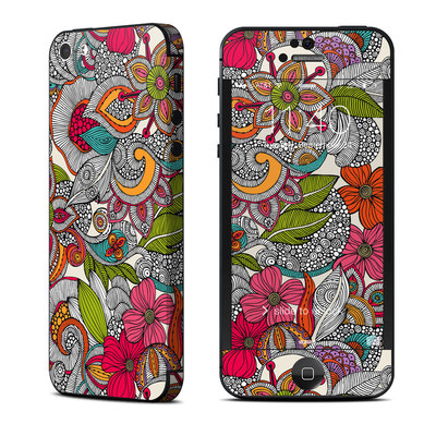 Apple iPhone 5 Skin - Doodles Color