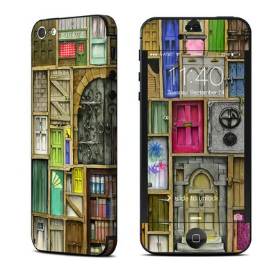 Apple iPhone 5 Skin - Doors Closed