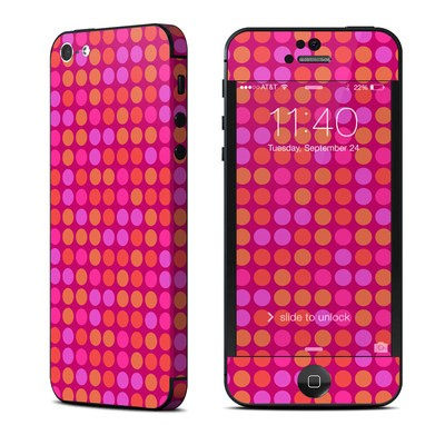 Apple iPhone 5 Skin - Dots Pink