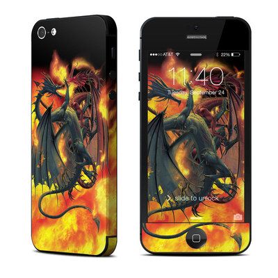 Apple iPhone 5 Skin - Dragon Wars