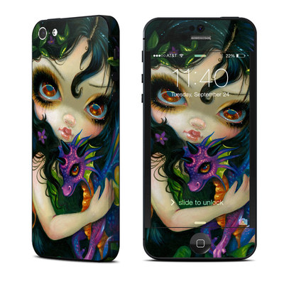 Apple iPhone 5 Skin - Dragonling Child