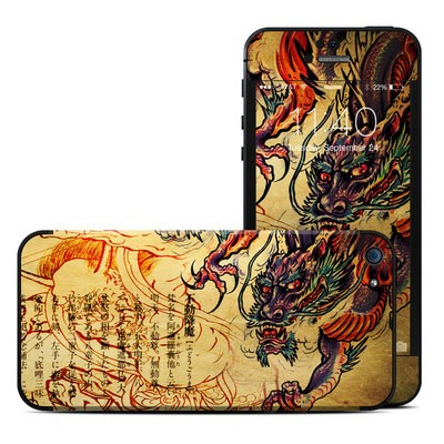 Apple iPhone 5 Skin - Dragon Legend