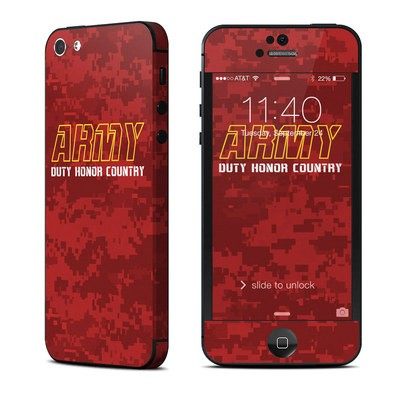 Apple iPhone 5 Skin - Duty and Honor