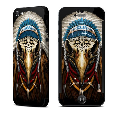Apple iPhone 5 Skin - Eagle Skull