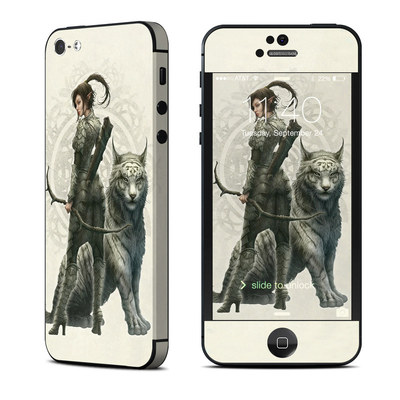 Apple iPhone 5 Skin - Half Elf Girl