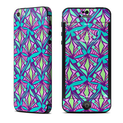 Apple iPhone 5 Skin - Fly Away Teal