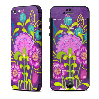 Apple iPhone 5 Skin - Floral Bouquet