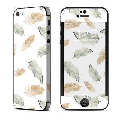 Apple iPhone 5 Skin - Feathers
