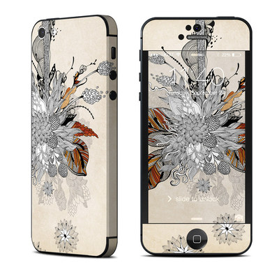 Apple iPhone 5 Skin - Fall Floral