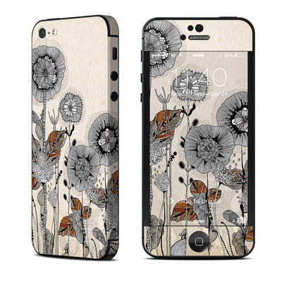 Apple iPhone 5 Skin - Four Flowers