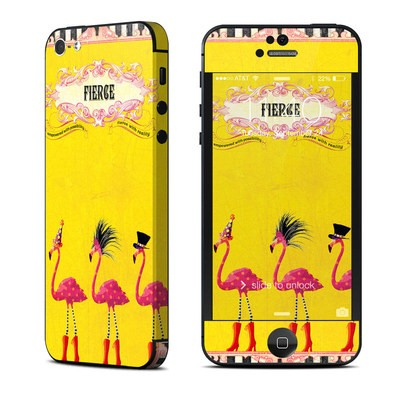 Apple iPhone 5 Skin - Fierce