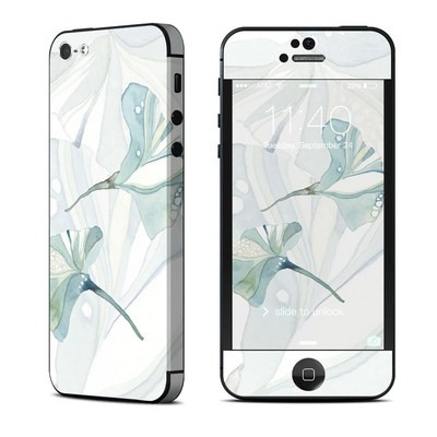 Apple iPhone 5 Skin - Floating Gingko