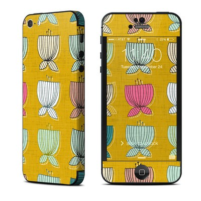 Apple iPhone 5 Skin - Flower Cups