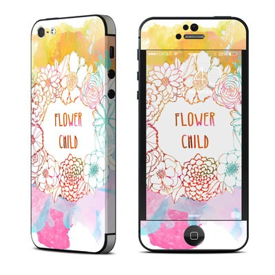 Apple iPhone 5 Skin - Flower Child