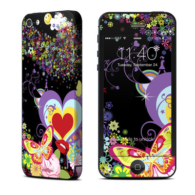 Apple iPhone 5 Skin - Flower Cloud