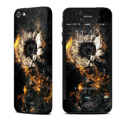 Apple iPhone 5 Skin - Flower Fury