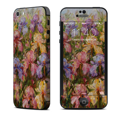 Apple iPhone 5 Skin - Field Of Irises