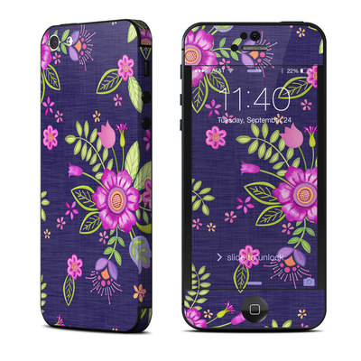 Apple iPhone 5 Skin - Folk Floral