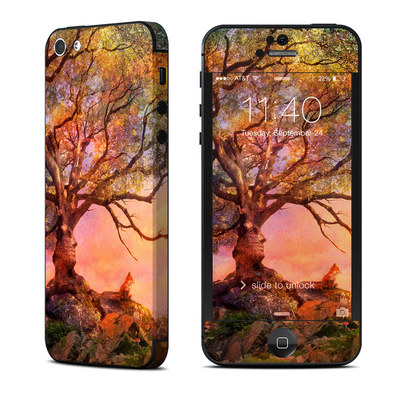 Apple iPhone 5 Skin - Fox Sunset