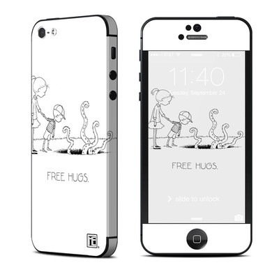Apple iPhone 5 Skin - Free Hugs