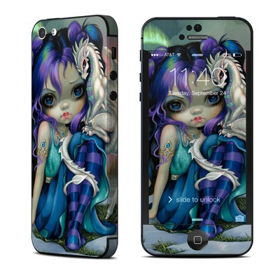 Apple iPhone 5 Skin - Frost Dragonling