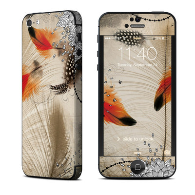 Apple iPhone 5 Skin - Feather Dance