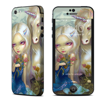 Apple iPhone 5 Skin - Fiona Unicorn