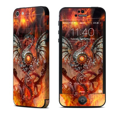 Apple iPhone 5 Skin - Furnace Dragon