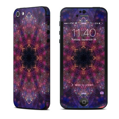 Apple iPhone 5 Skin - Galactic Mandala