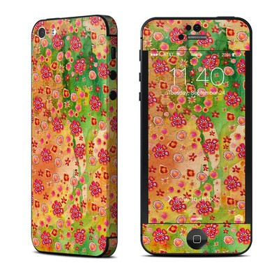 Apple iPhone 5 Skin - Garden Flowers