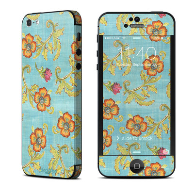 Apple iPhone 5 Skin - Garden Jewel