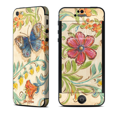 Apple iPhone 5 Skin - Garden Scroll