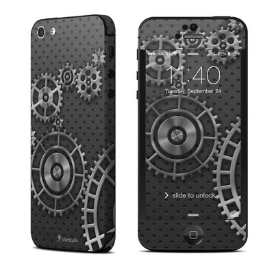 Apple iPhone 5 Skin - Gear Wheel