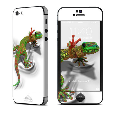 Apple iPhone 5 Skin - Gecko