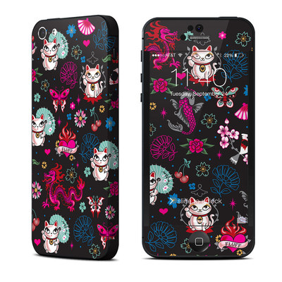 Apple iPhone 5 Skin - Geisha Kitty