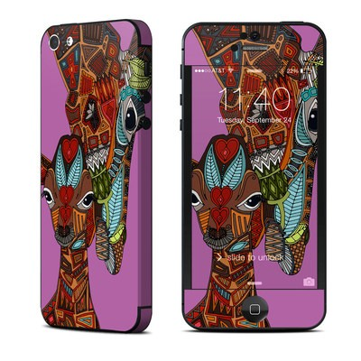 Apple iPhone 5 Skin - Giraffe Love