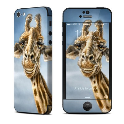 Apple iPhone 5 Skin - Giraffe Totem